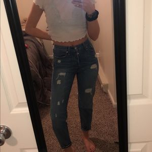 Levi mom jeans